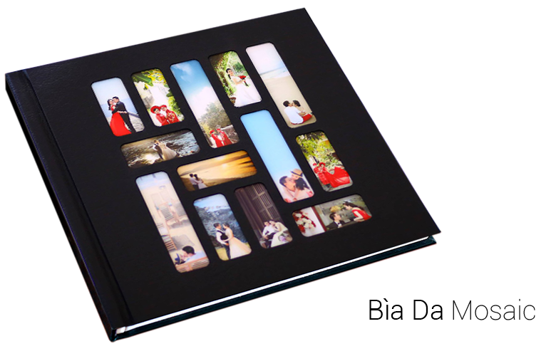 photobook bìa da mosaic